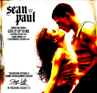 (When You Gonna) Give It Up to Me - Image: Sean Paul Give It Up To Me