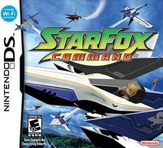 <i>Star Fox Command</i> video game