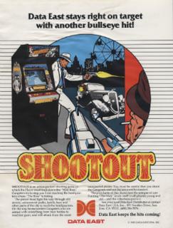 <i>Shootout</i> (1985 video game)