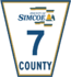 Simcoe Road 7 sign.png