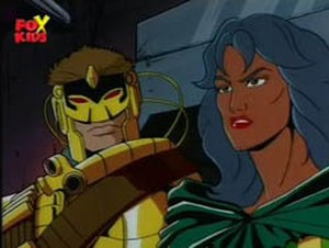 David North (comics) - Maverick (left) and Silver Fox as seen in the X-Men 1990s cartoon.