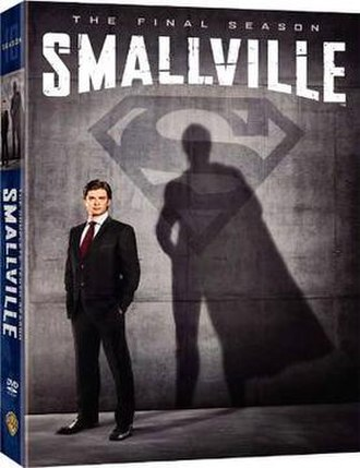 Smallville (season 10) - DVD and Blu-ray cover