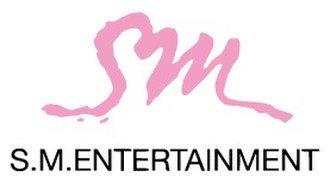 SM Entertainment - Company logo until October 2017