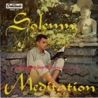Solemn Meditation - Image: Solemn Meditation