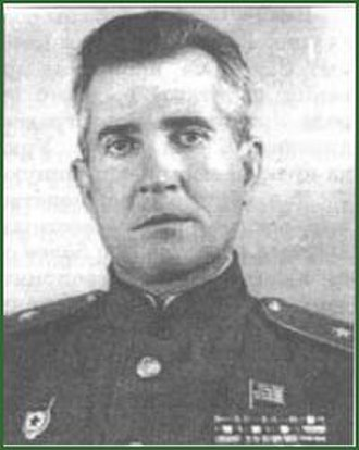 61st Cavalry Division (Soviet Union) - Col. A.V. Stavenkov after promotion to Major General.