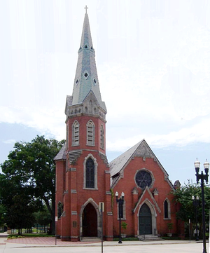St. Andrew's Episcopal Church (Jacksonville) - St. Andrew's Church building in 2008