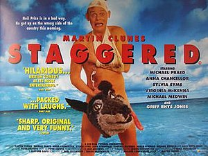 Staggered (film) - Image: Staggered Film Poster (1994)