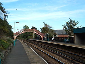 Stocksfield - Image: Stock Rail Station