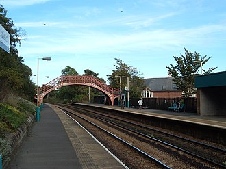 Stocksfield - Image: Stock Rail Station