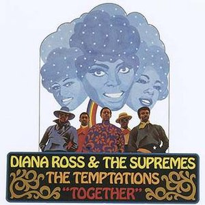 Together (The Supremes and The Temptations album) - Image: Supremes tempts together alt