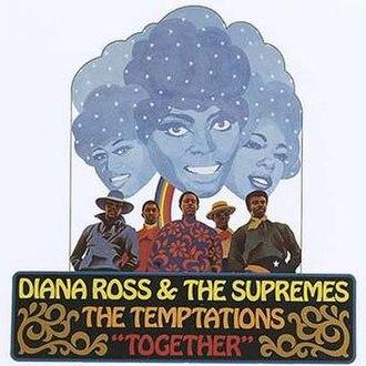 Together (The Supremes and The Temptations album) - Image: Supremes tempts together alt