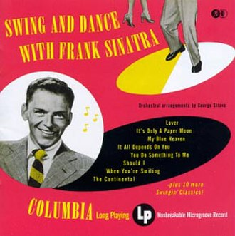 Sing and Dance with Frank Sinatra - Image: Swinganddancewithfra nksinatra