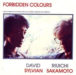 Forbidden Colours - Image: Sylvian & Sakamoto Forbidden Colours