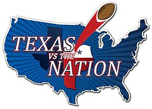 Texas vs The Nation - Image: Texas Vs The Nation Logo