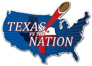 Texas vs The Nation Former college football All-star bowl game