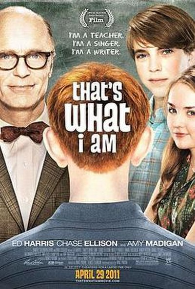 Picture of a movie: That's What I Am