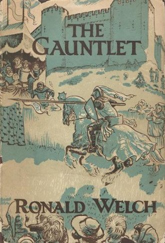 The Gauntlet (novel) - First edition (publ. Oxford University Press)