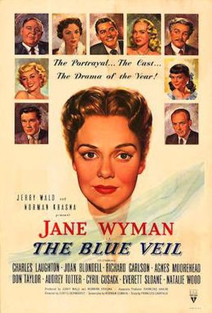 The Blue Veil (1951 film) - 1951 Theatrical Poster