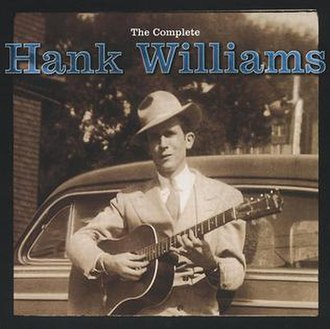The Complete Hank Williams - Image: The Complete Hank Williams