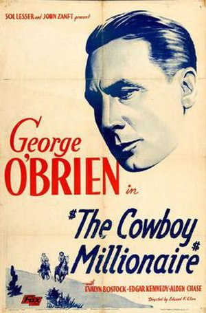 The Cowboy Millionaire (film) - Theatrical release poster