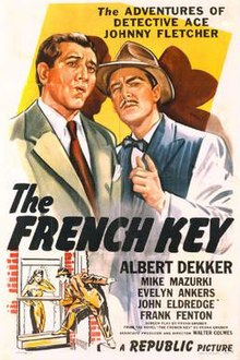 Image result for frank gruber french key