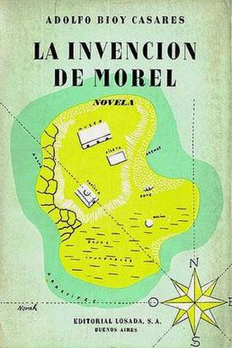 The Invention of Morel - First edition dust jacket cover