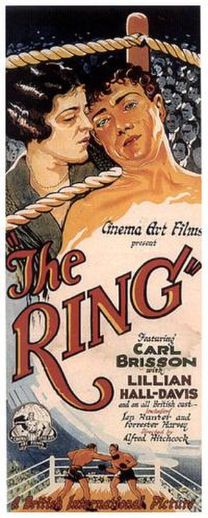 The Ring (1927 film) - Image: The Ring (1927 movie poster)