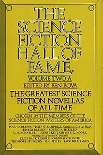 <i>The Science Fiction Hall of Fame, Volume Two</i> Anthology edited by Ben Bova