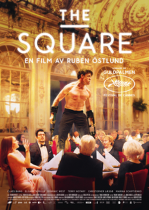 The Square (2017 film) - Theatrical release poster