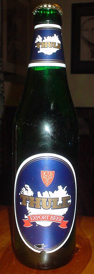 Beer in Iceland - Image: Thule Beer