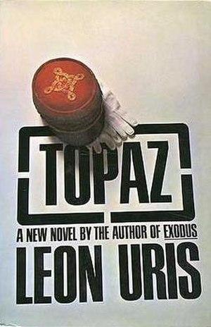 Topaz (novel) - First Edition (McGraw-Hill, 1967)