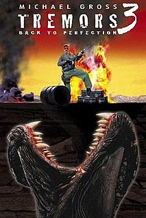 <i>Tremors 3: Back to Perfection</i> 2001 American monster film by Brent Maddock
