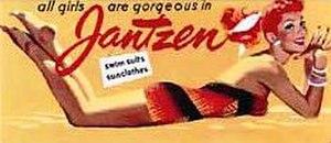 Jantzen - Vintage Jantzen billboard