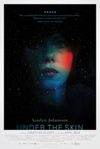 Under the Skin (2013 film) - Theatrical release poster
