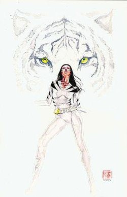 White Tiger Angela Del Toro Wikipedia