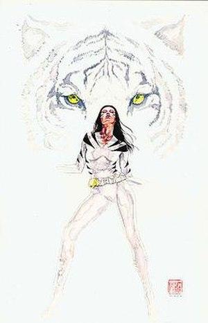 White Tiger (Angela del Toro) - Image: White Tiger DT