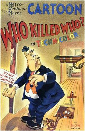 Who Killed Who? - The original release poster