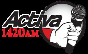 XEF-AM - Image: XEF Activa 1420 logo