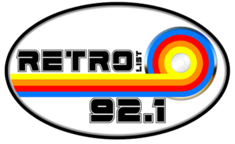 XHACD-FM - Image: XHACD RETRO92.1 logo