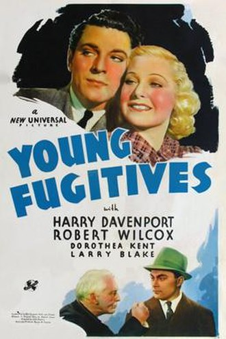 Young Fugitives - Theatrical release poster