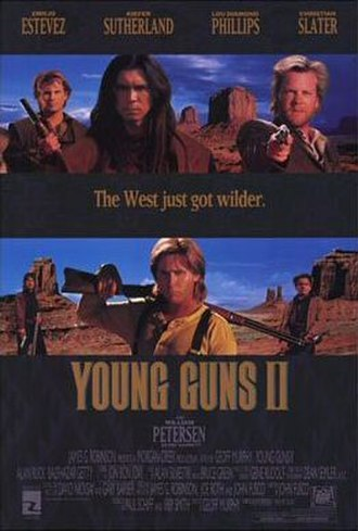 Young Guns II - Theatrical release poster