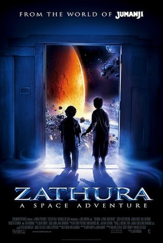 Zathura: A Space Adventure - Theatrical release poster