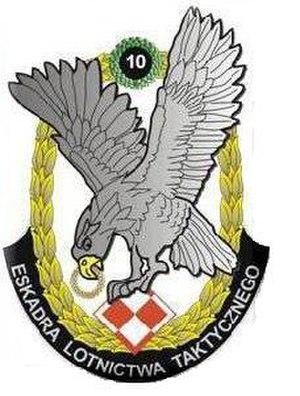 10th Tactical Squadron - Image: 10 Eskadra Lotnictwa Taktycznego (emblem)