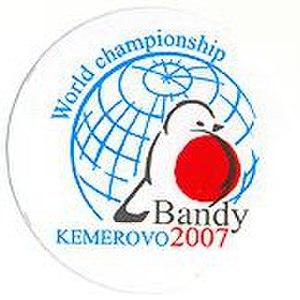 2007 Bandy World Championship - Image: 2007 Bandy World Championship logo