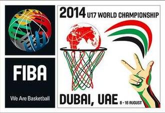 2014 FIBA Under-17 World Championship - Image: 2014 FIBA Under 17 World Championship logo