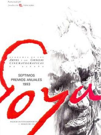 7th Goya Awards - Image: 7th Goya Awards logo
