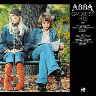 Greatest Hits (ABBA album) - Image: ABBA Greatest Hits (UK)