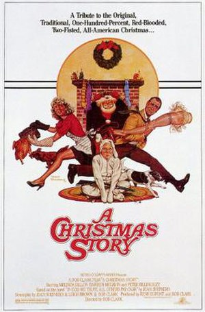 A Christmas Story - Theatrical release poster