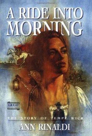 "Jockey Hollow - Front Cover of ""A Ride Into Morning"""