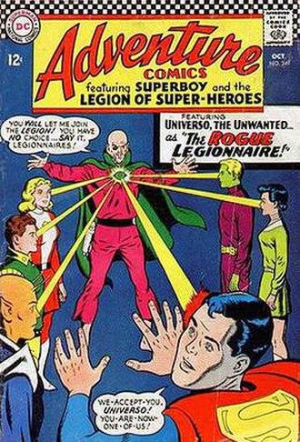 Universo - Image: Adventure Comics 349
